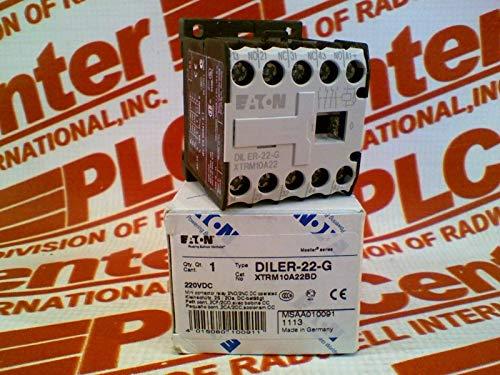 CUTLER HAMMER XTRM10A22BD Mini Control Relay 10A Frame A 2NO2NC 220VDC Coil