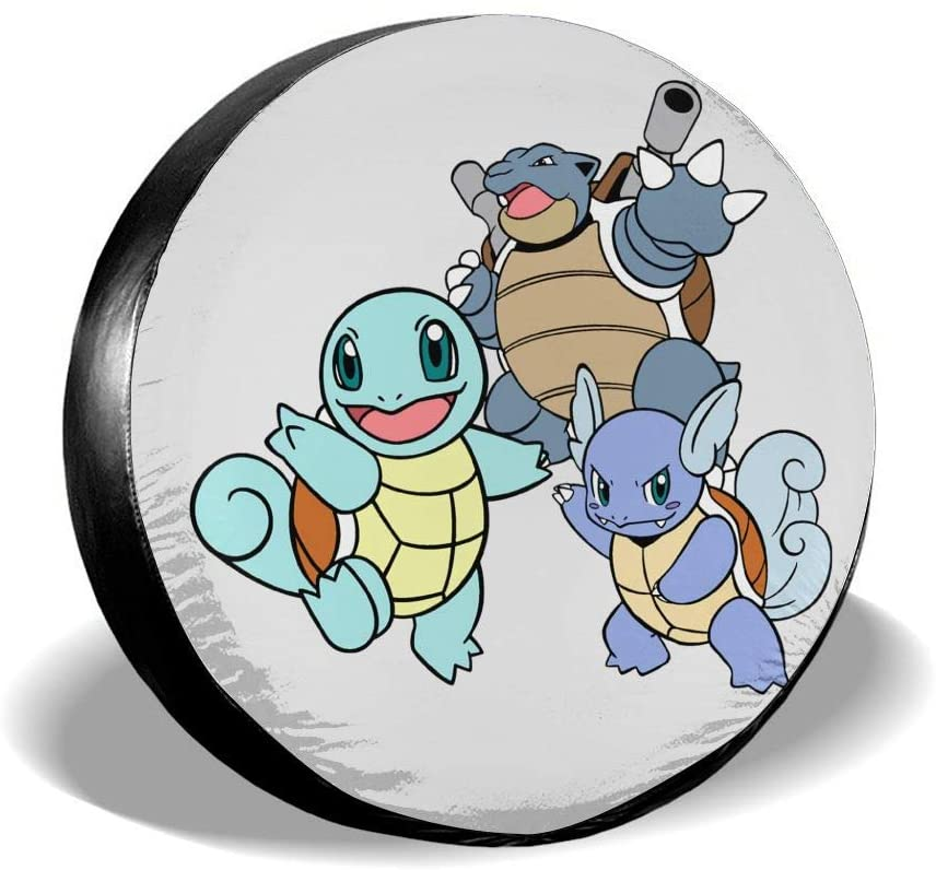 Liuqidong Squirtle Wheel Cover Water-Proof Dust-Proof Sun Protection