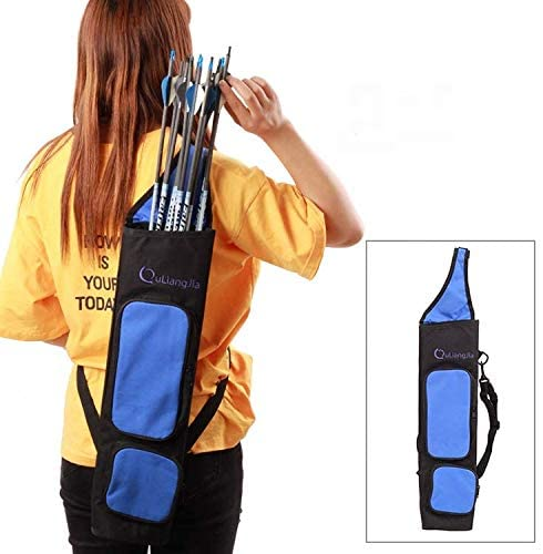 Master Chun Archery Quiver Comfortable High Capacity Adjustable Back Strap Quality Arrow Bag