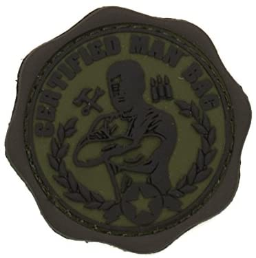 MilSpec Monkey Mil-Spec Monkey Man Bag PVC Morale Patch