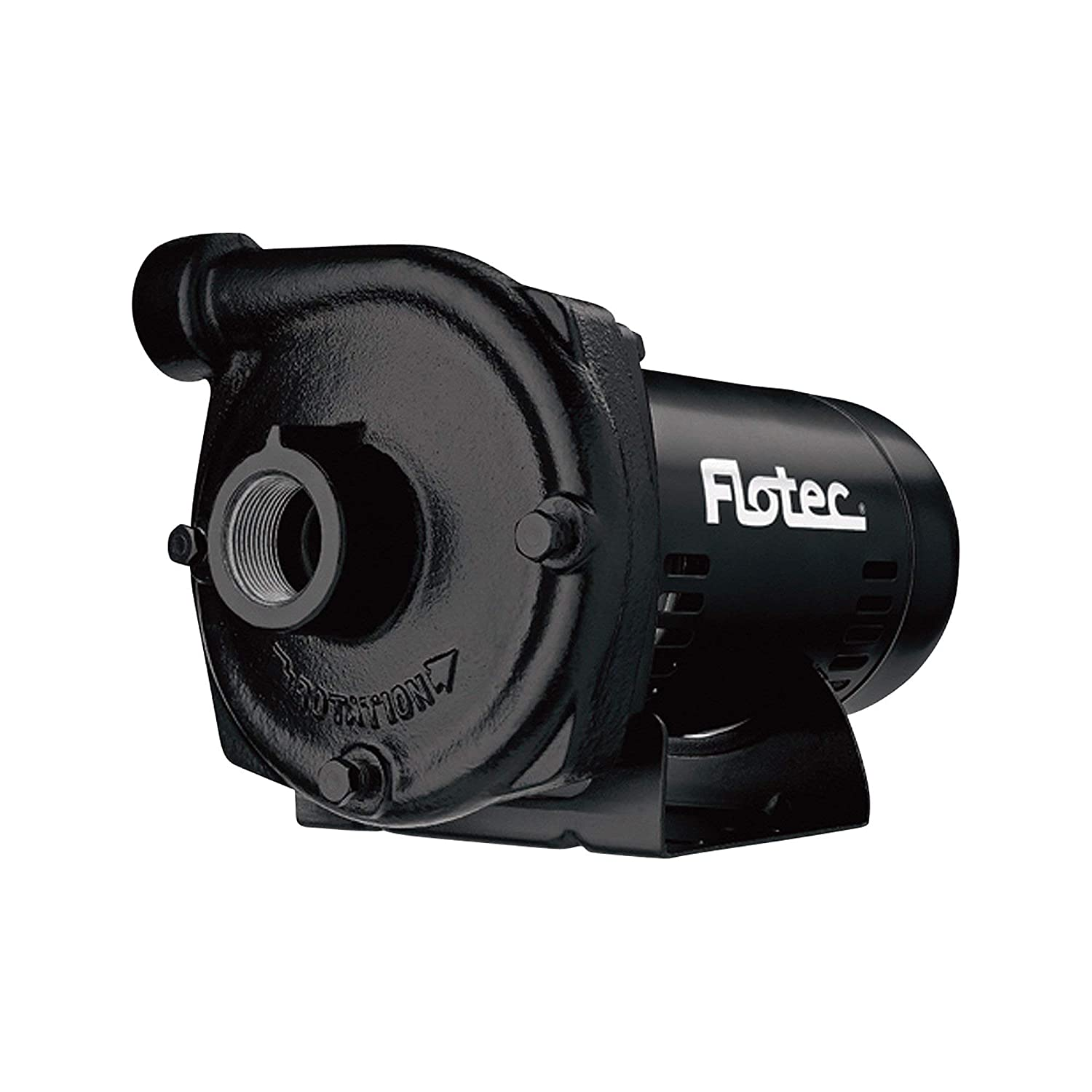 Flotec Cast Iron Centrifugal Water Pump - 2,580 GPH, 3/4 HP, 1/1/4in. Model Number FP5522