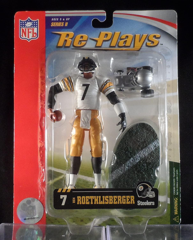 2006 Gracelyn Re-Plays Ben Roethlisberger Pittsburgh Steelers Action Figure