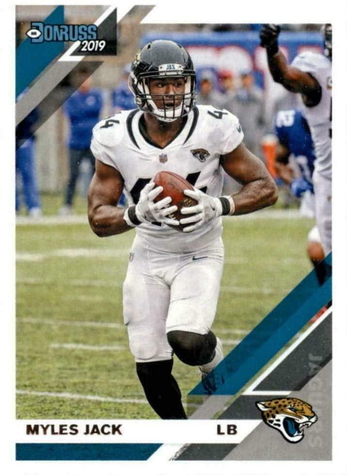 Myles Jack 2019 Donruss Football 48 Card Lot Jacksonville Jaguars #124 - Unsigned Football Cards