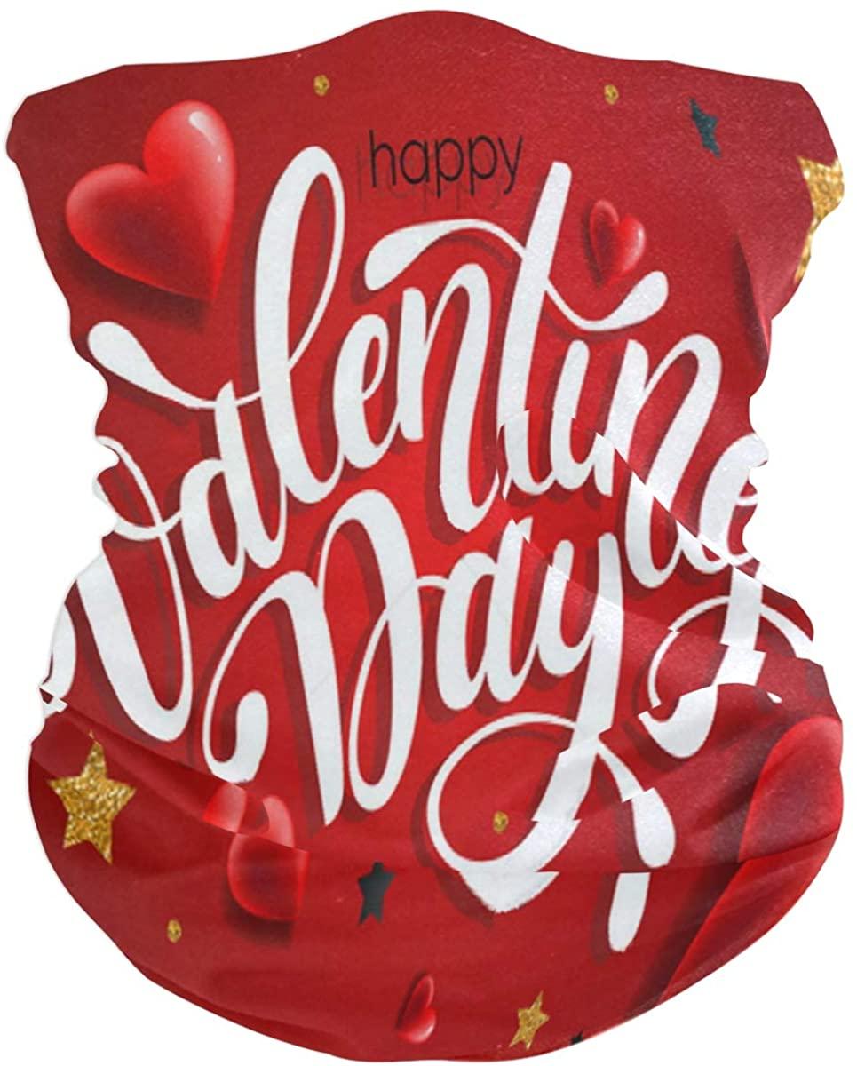 Lovexue Valentines Day Cat Headband Womens Headband Scarf Mens Bandana,Muffler,Neck Gaiter,Magic,Aliceband Neckerchief