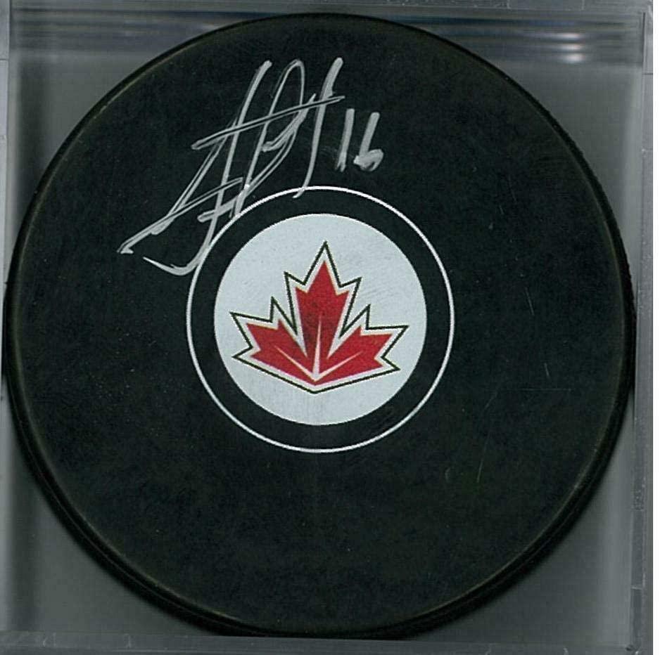 Jonathan Toews Signed Hockey Puck - Team Canada Fanatics COA) - Fanatics Authentic Certified - Autographed NHL Pucks