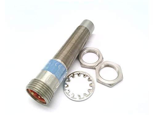 RADWELL VERIFIED SUBSTITUTE 871TM-DH8NN18-N4-SUB UNSHIELDED, 1-PC Stainless Steel Body & FACE, 8MM Range, N/O, NPN, Mini Q/D 4 PIN, Replacement of Allen Bradley 871TM-DH8NN18-N4, Proximity Sensor