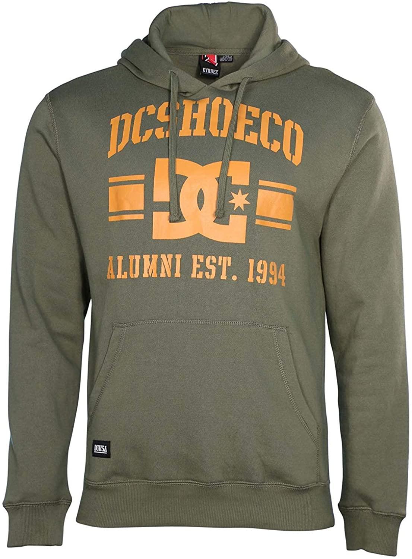 DC Mens Star Dyrdek Pullover Hoodie Hooded Sweatshirt Small Hunter Green