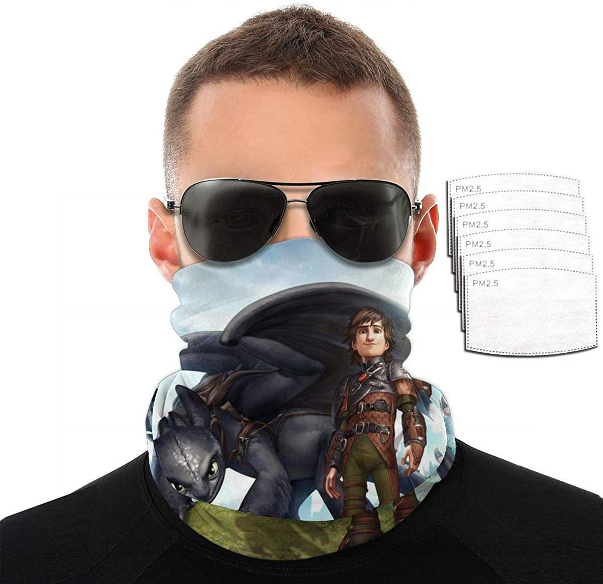 Face Mask. Bandana Face Scarf, Wind UV Protection Neck Gaiter for Outdoor Sports