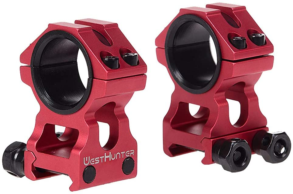 WestHunter Optics Picatinny Riflescope Rings,1