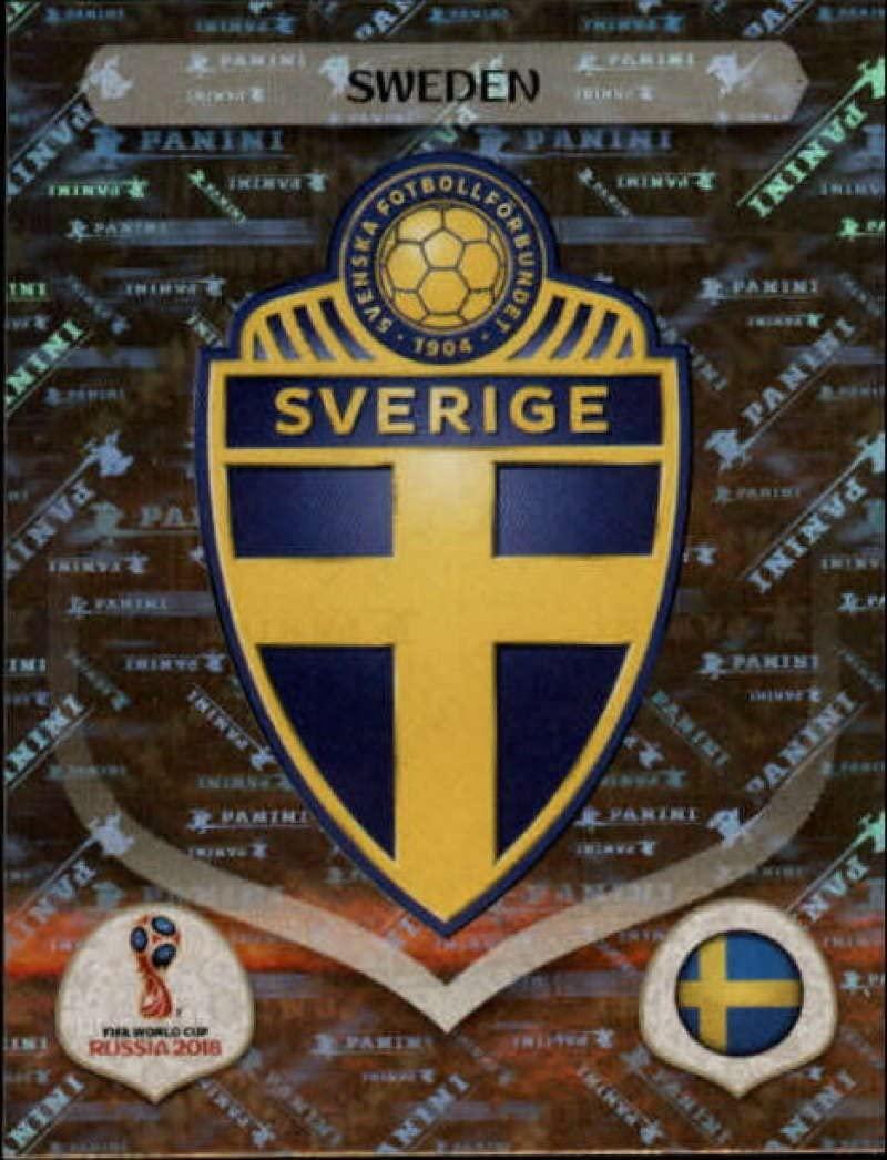 2018 Panini World Cup Stickers Russia #472 Team Logo Sweden Soccer Sticker