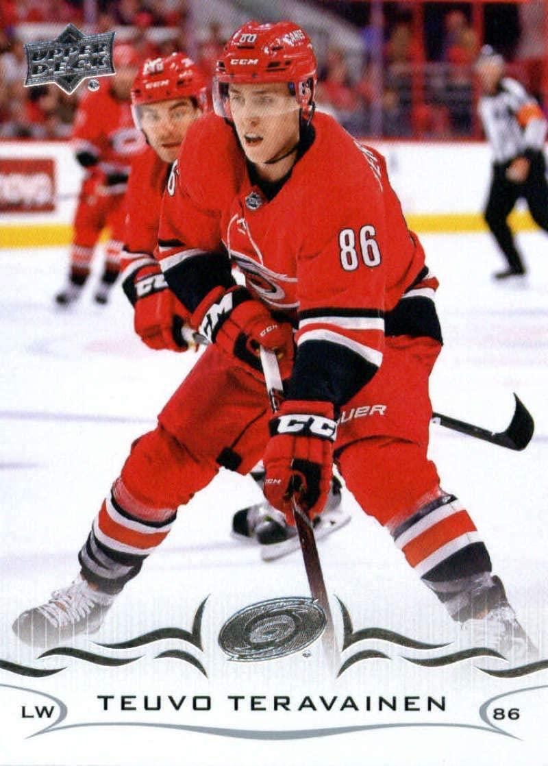2018-19 Upper Deck #287 Teuvo Teravainen Mint Hockey NHL Hurricanes