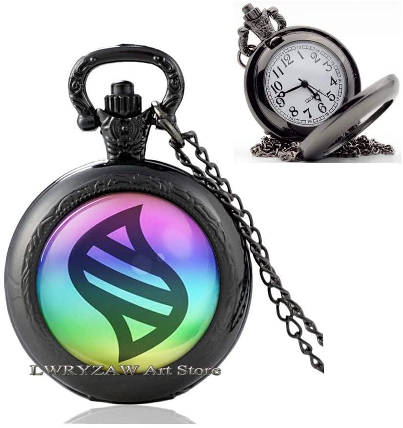 Mega Stone Pendant, mega Stone Pocket Watch Necklace mega Stone Jewelry mega Stone Pocket Watch Necklace,Glass Dome Pendant, Gift for Her Him,M258