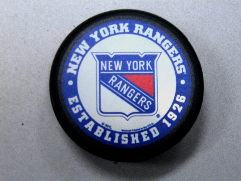 New York Rangers Retro Domed Hockey Pucks