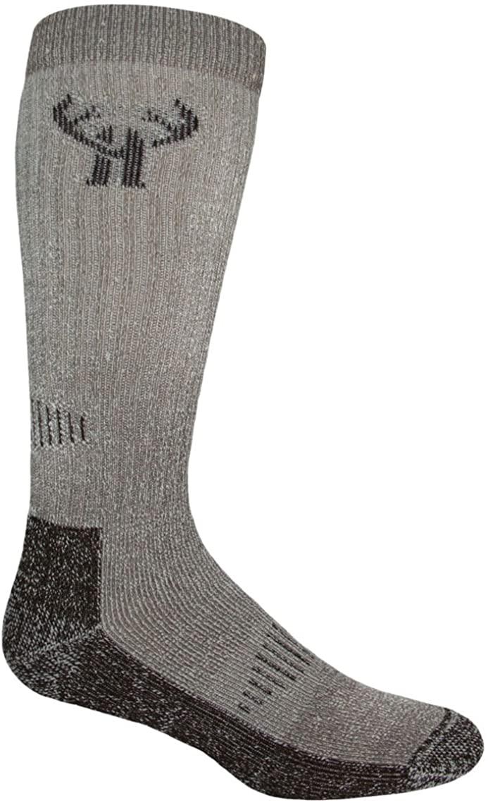 2 Pack Huntworth Mens Deluxe Merino Boot Sock