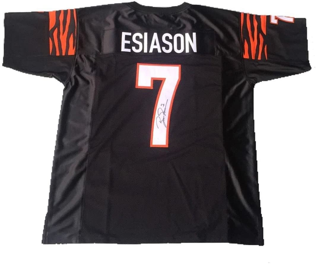 Boomer Esiason Autographed Jersey - Away - JSA Certified - Autographed NFL Jerseys