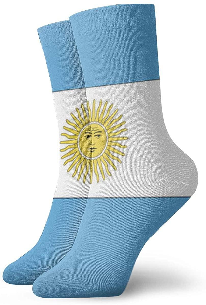 Game Life Crew Socks Argentine Flag Men Women Sock Casual Socks