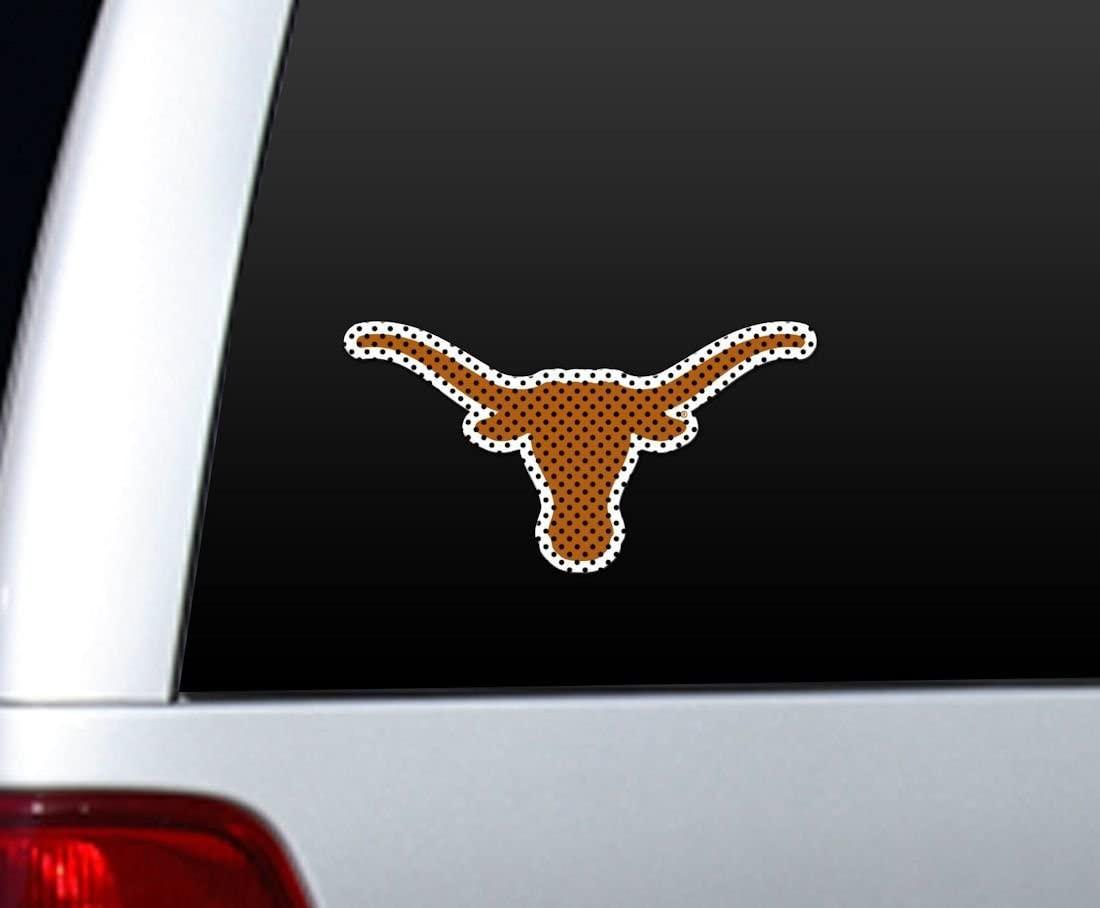 Texas Longhorns Die-Cut Window Film - Large