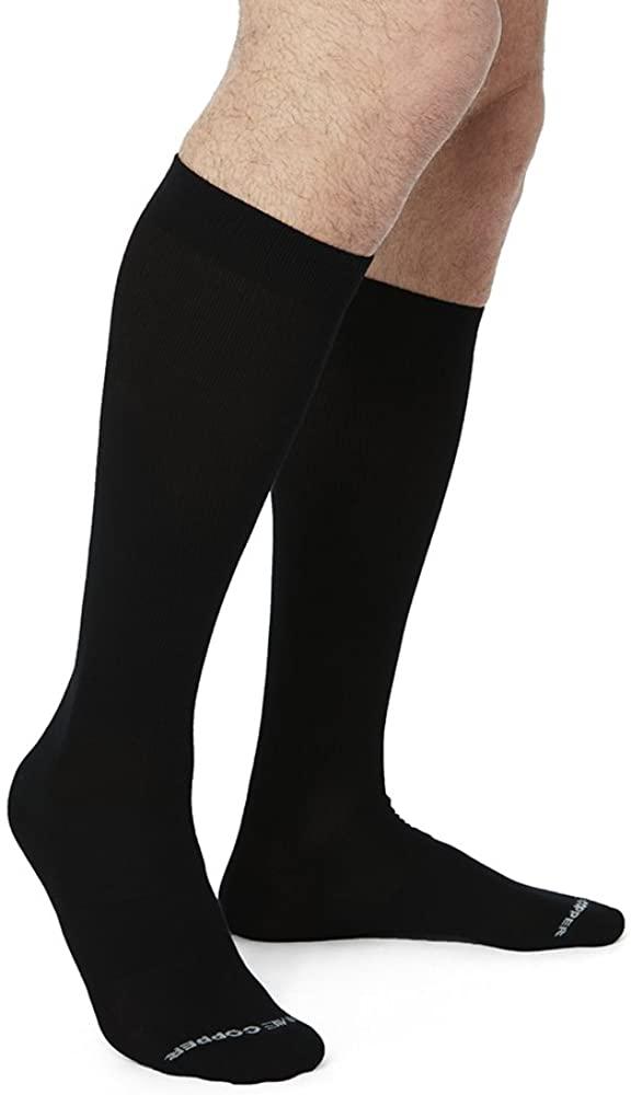Tommie Copper Men's Core Compression MicroModal Over The Calf Socks