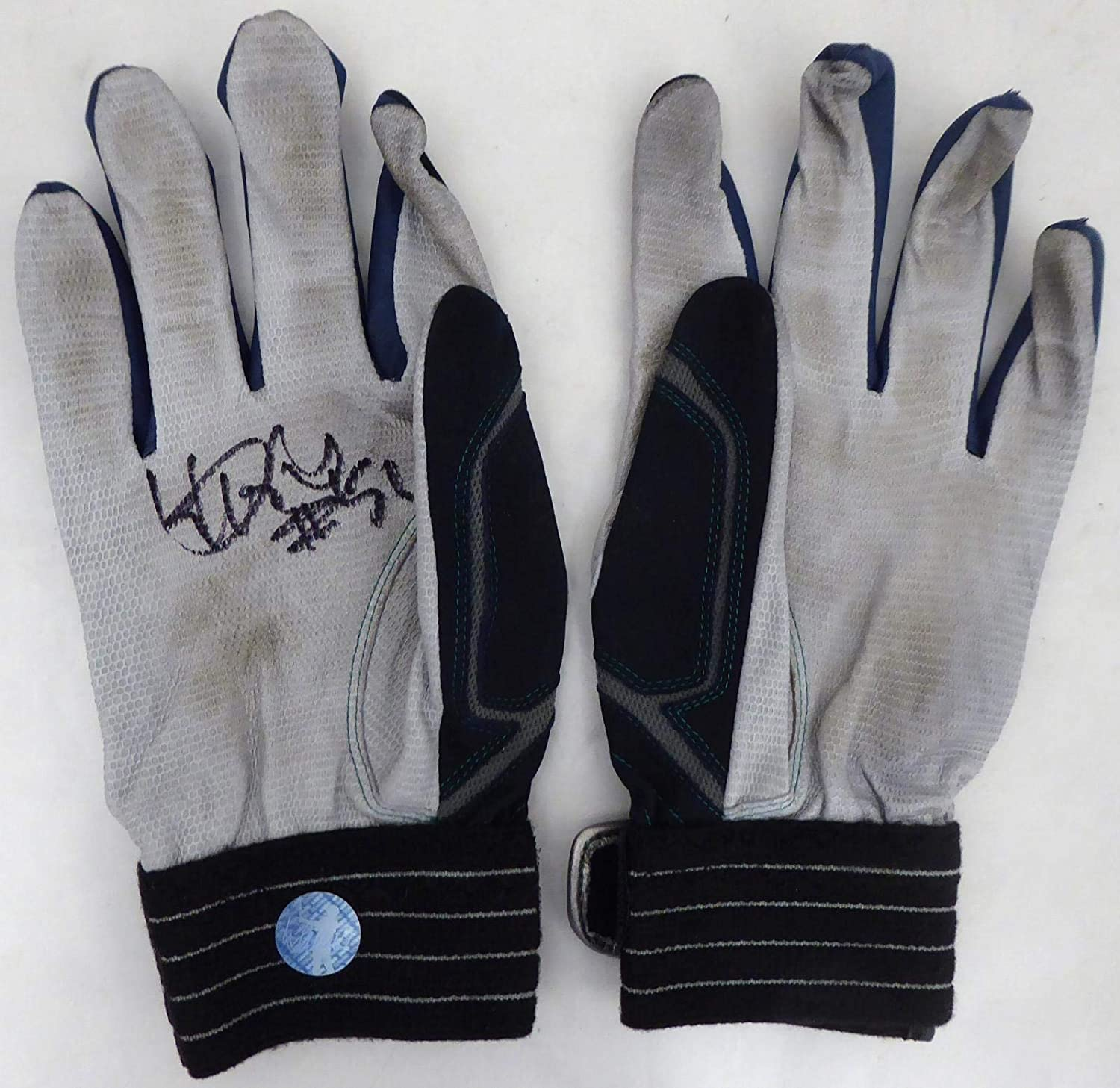 Ichiro Suzuki Autographed 2018 Game Used Batting Gloves with Signed Certificate Seattle Mariners