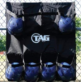 TAG Baseball Hangable Helmet Bag, Holds 8 Helmets