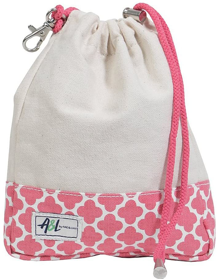 Ame & Lulu Digsby Ditty Drawstring Accessory Bag with Hook