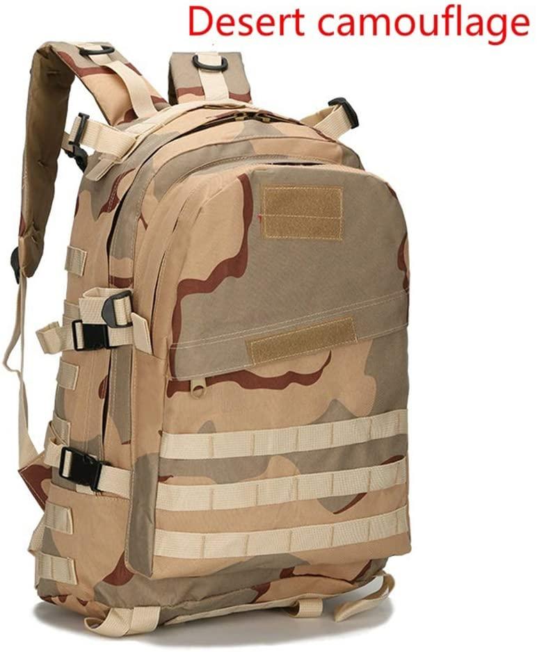 Custom786 Jedi Survival Backpack Large Capacity Backpack Hiking Backpack Camouflage Waterproof Tactical 3D Package