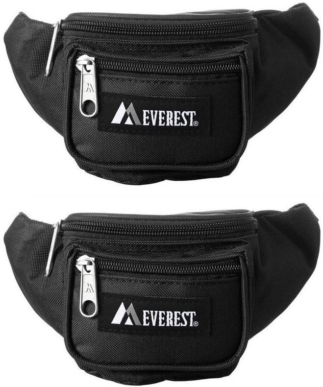 Everest Junior - Signature Waist Pack - Black Set of Two