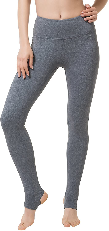 Matymats Women's Active Yoga Barre Workout Stirrup Pants