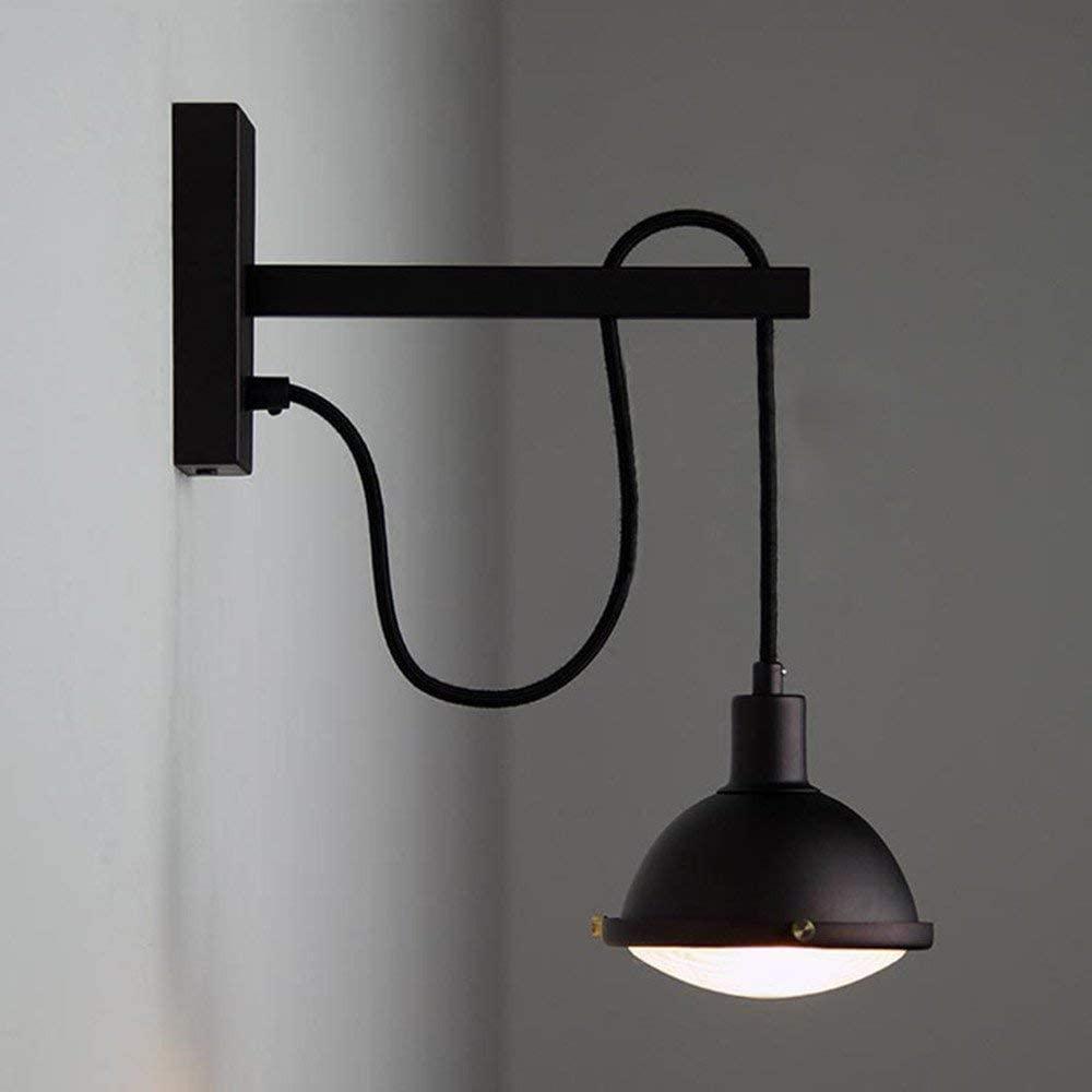 Lamp Wall Lamp & Suspension Lampshade Metal Wall Light Vintage Industrial Adjustable Decorative Lighting