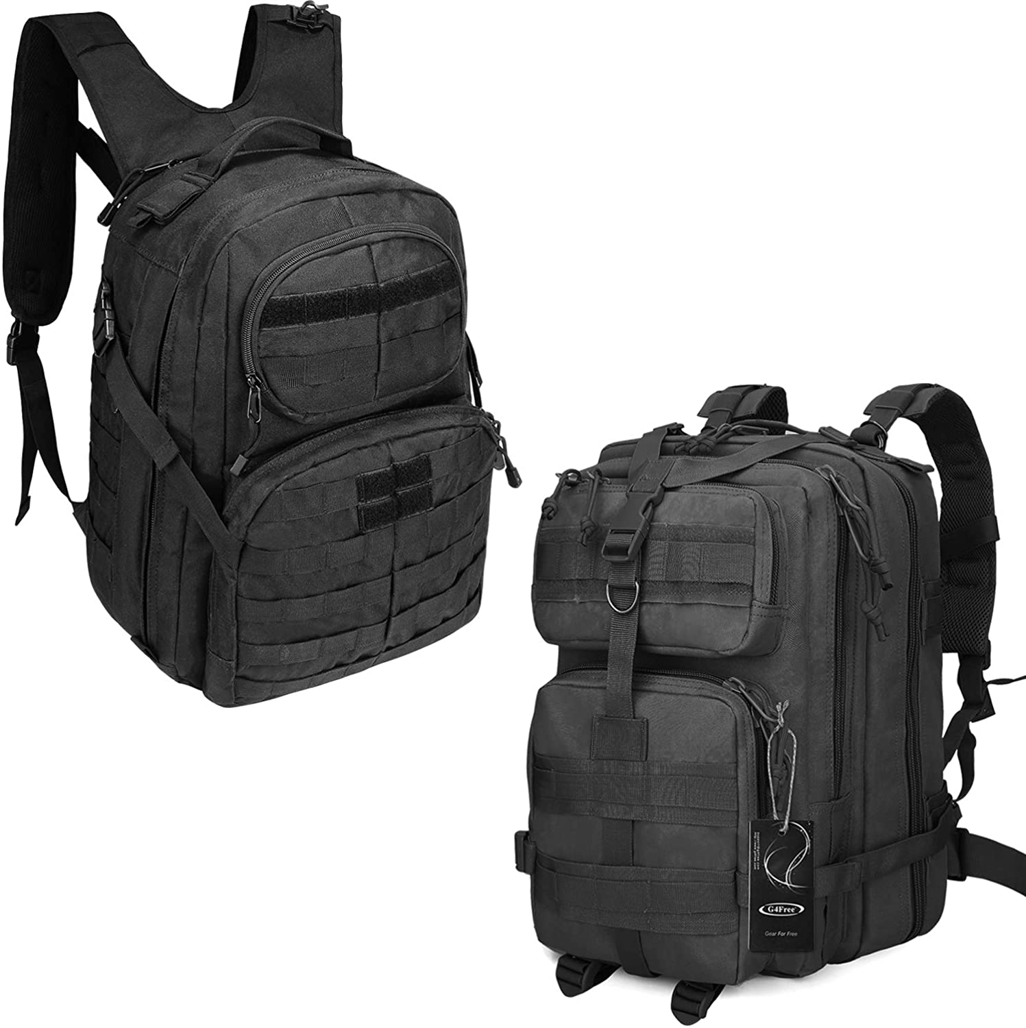 G4Free Tactical Backpack Military Style Pack Assault Pack 40L