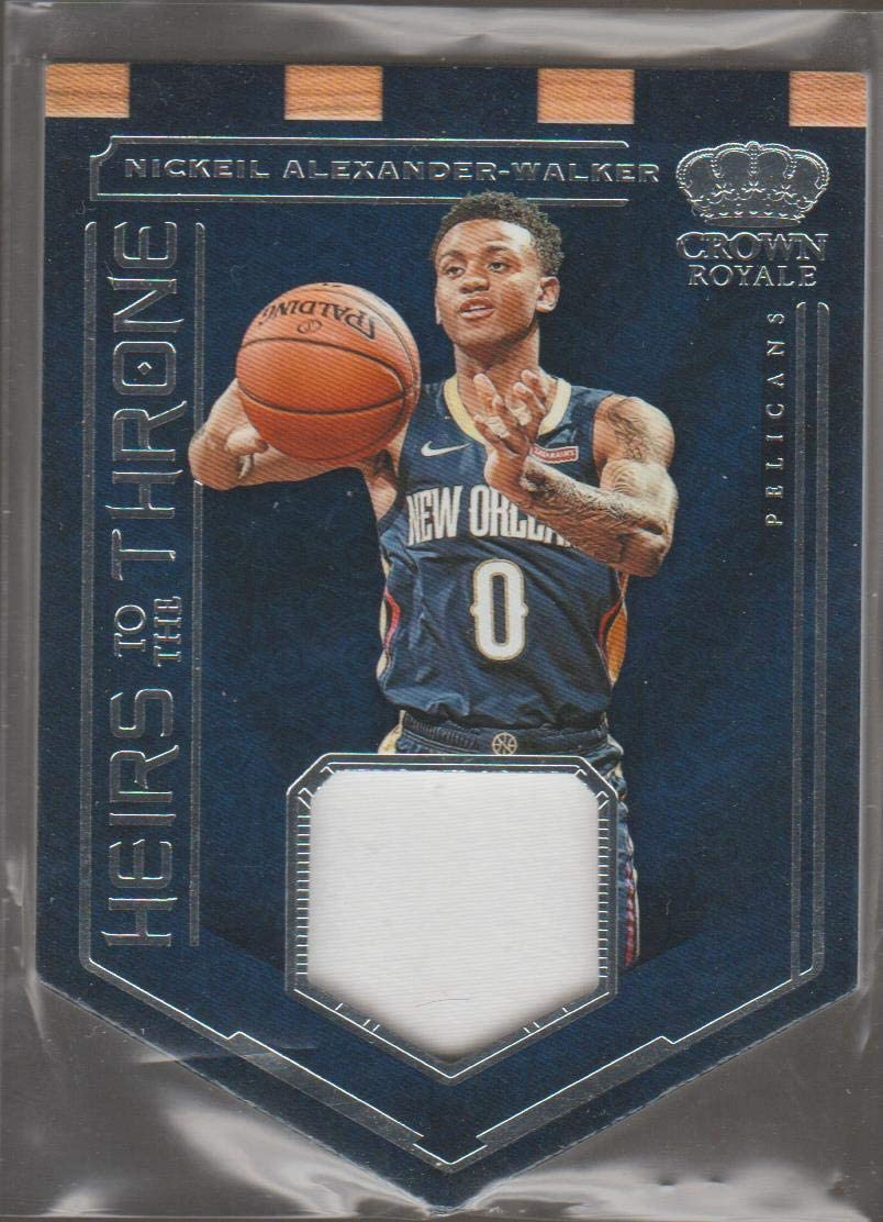 2019-20 Panini CR Nickeil Alexander-Walker Pelicans DC Heirs to the Throne Jersey Basketball Card #HT-NA