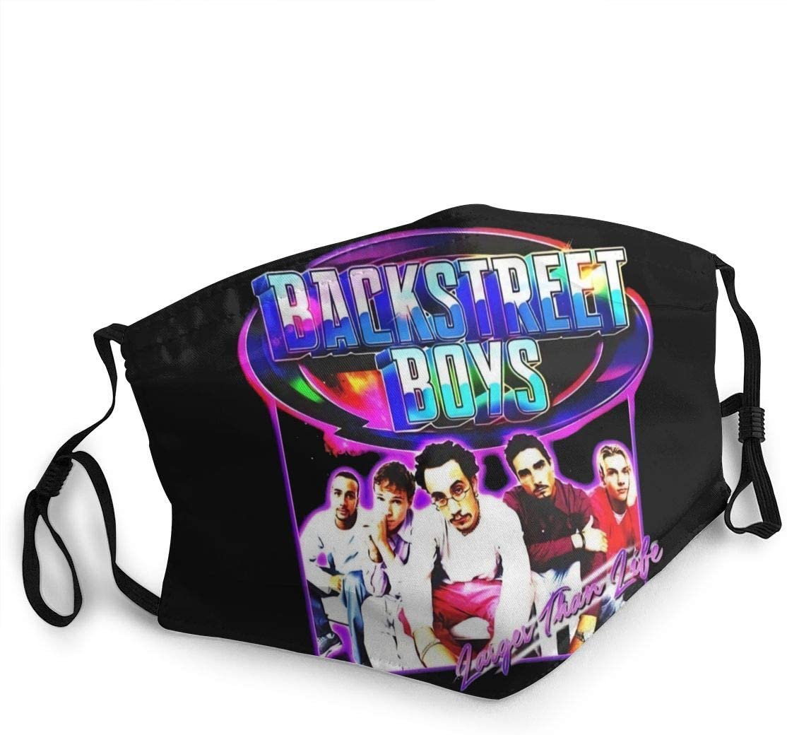 Hkany Fashionable Protection, Backstreet Boys Neutral Black Dustproof Cotton, Windproof and Dustproof. Anti-Pollution.