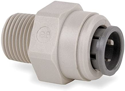 John Guest Acetal Copolymer Male Adapter, 3/8