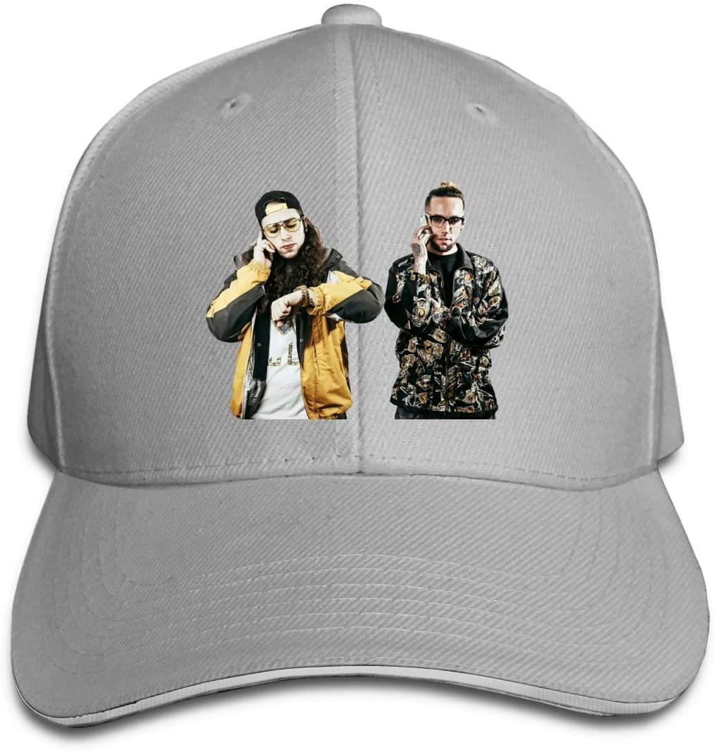 IASIFD Sui-ci-de-Boys Unisex Flex-fit Hat Hip Hop Baseball Cap Sun Hat Outdoor Cap Gray