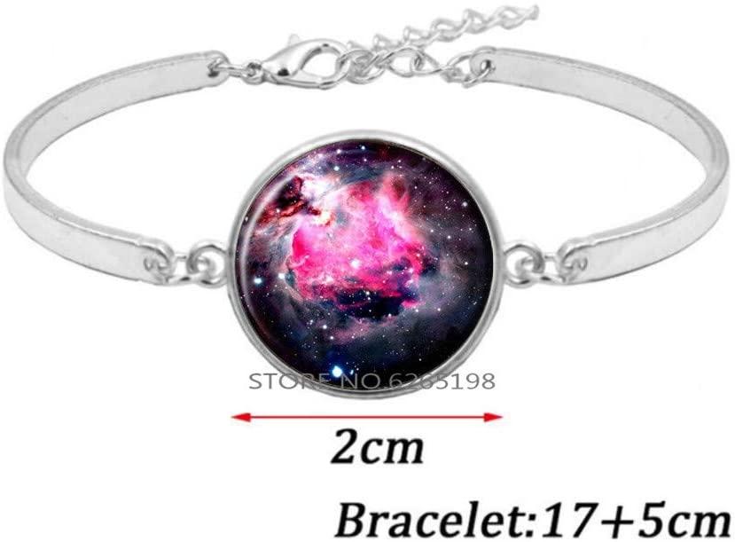 Nebula Bracelet, Galaxy Jewelry, Universe Bangle, Celestial Jewelry,Space Jewelry,N259