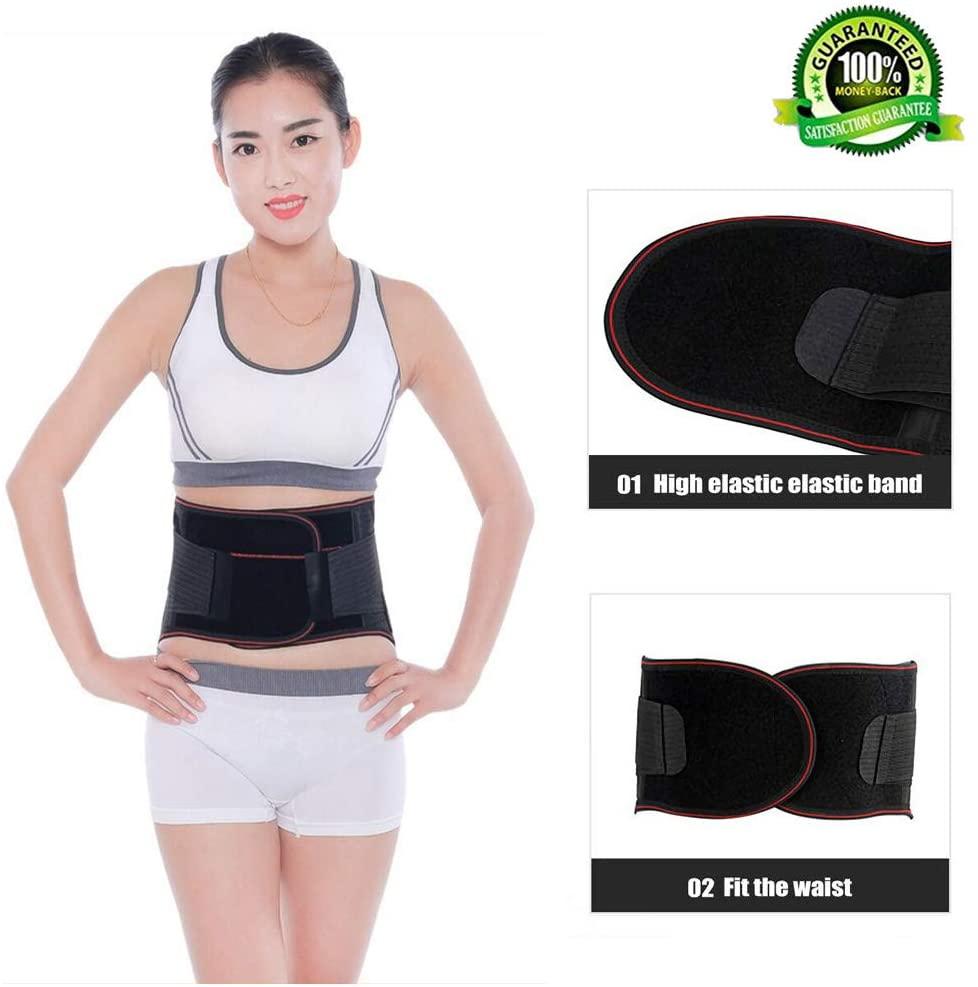 Adjustable Low Back Lumbar Support Waist Trimmer Trainer Belt Brace Tummy Fat Burner