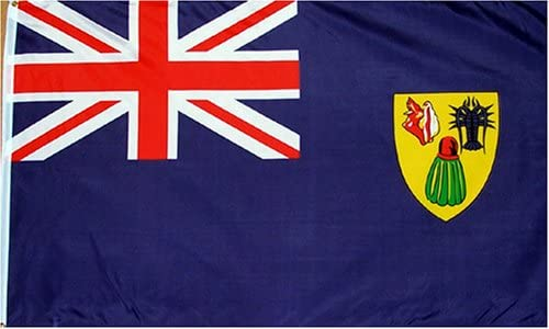 Turks and Caicos - 3 x 5 Polyester Flag