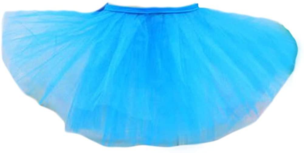 George Jimmy Three Layers Yarn Dance Skirt Kid Swan Lake Costumes Ballet Dress-Blue