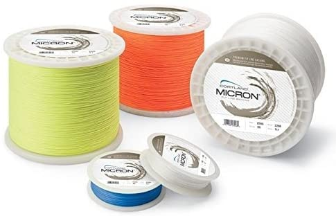 Cortland Fly Line Backing, MICRON, 30 lb Test, BLUE - 100, 150, 200, 250, 300, 400, 600 up to 2,500 yd