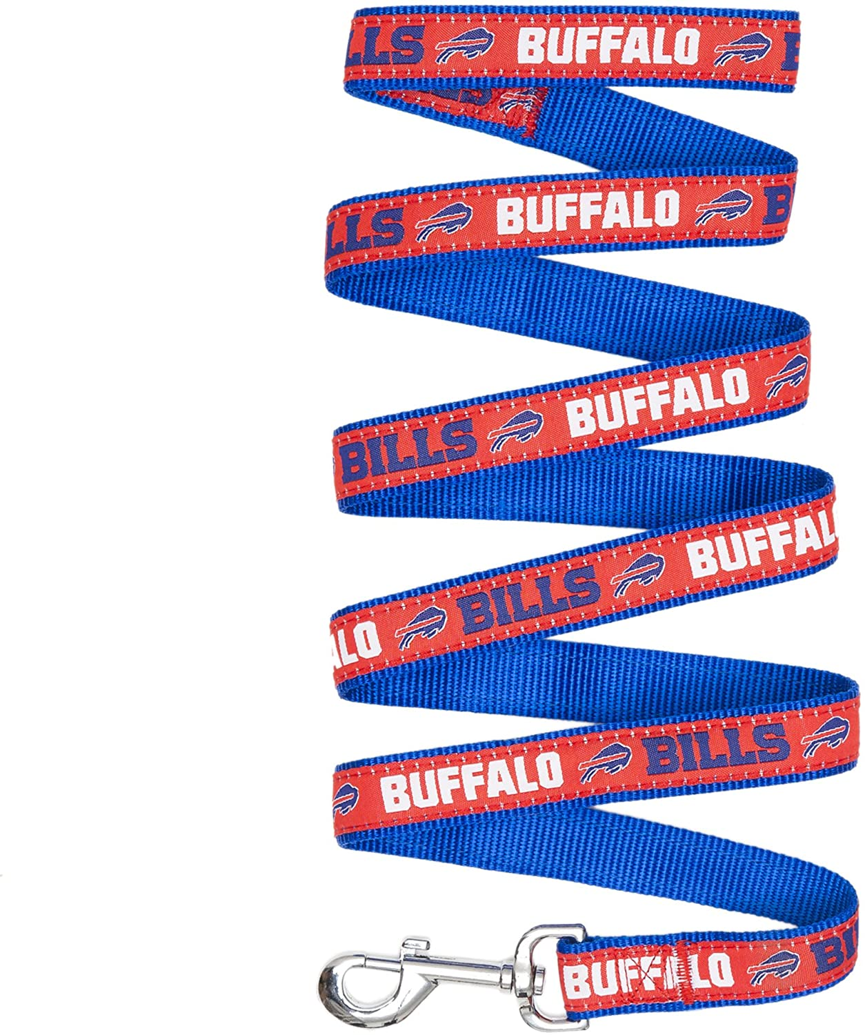 Pets First NFL BUFFALO BILLS Dog Leash & Cat Leash for Pets, SIZE: Small, STURDY LEASH, DURABLE, FASHIONABLE & AFFORDABLE!