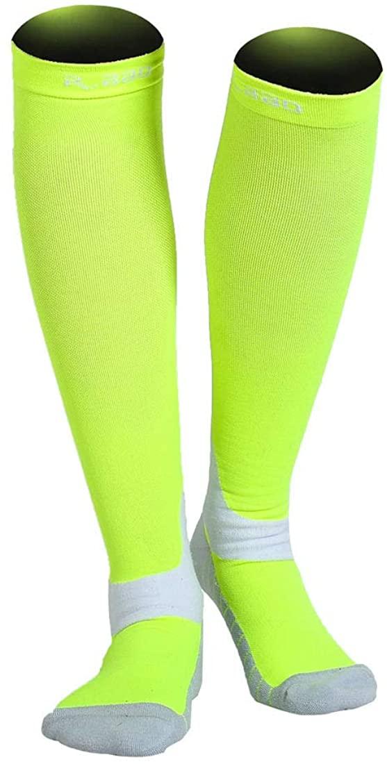 Unisex New Technology Reflective Night Running Sports Compression Socks