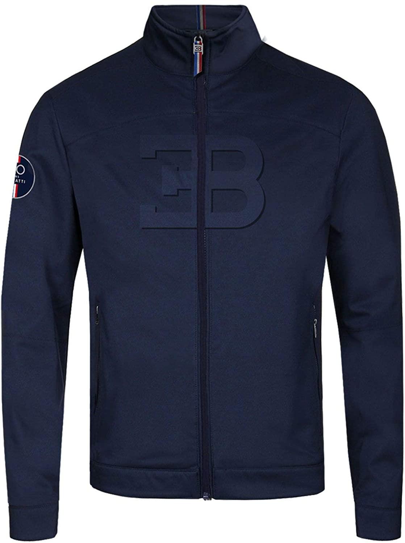 BUGATTI Men's Blue Navy EB Driver Jacket (M)