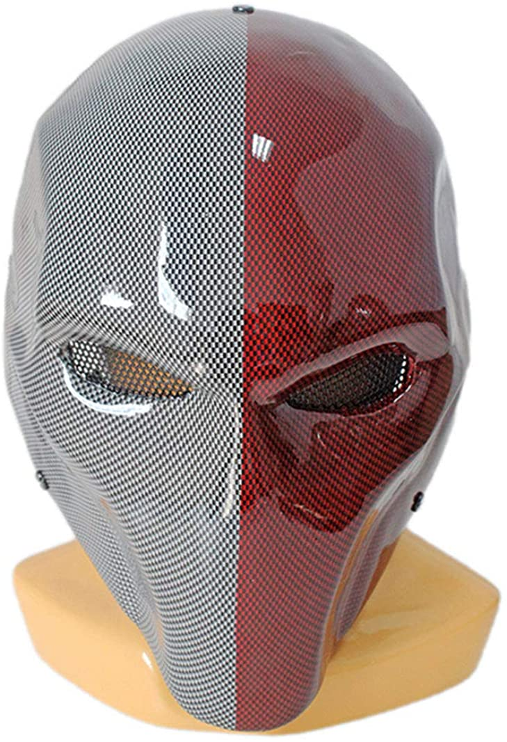 2019 Army Death Wilson Airsoft Protection Two Eyes Paintball Cospaly Mask 1:1 Costume Props