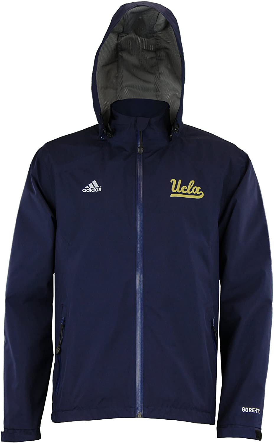 adidas UCLA Bruins Men's Gore-Tex Full Zip Jacket, Navy