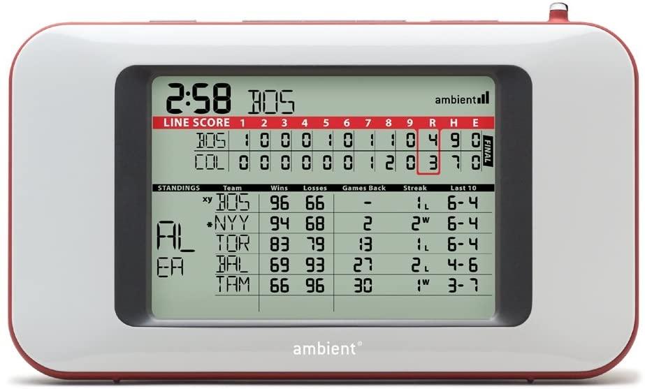 Ambient Baseball ScoreCast