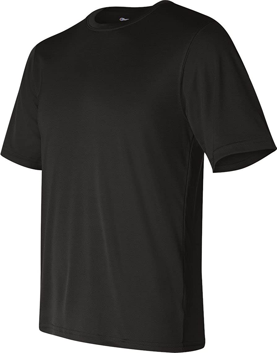 Champion Double Dry 4.1 oz. Interlock T-Shirt (CW22) Black, L
