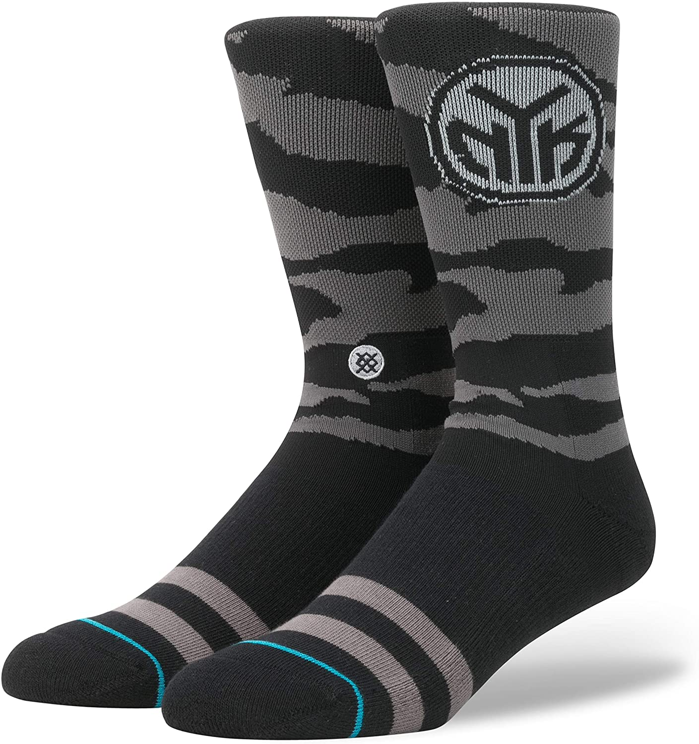 Stance Men's Nightfall Knicks Socks Black L