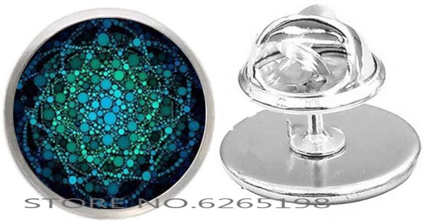 Om Brooch Pin. Yoga Jewelry,Simple Ohm Delicate Charm. Layering. Dainty Gift, Dainty Brooch,N174