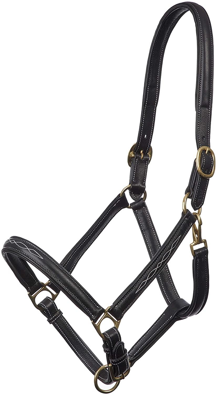 LeMieux Soft Leather Halter - Black - Full