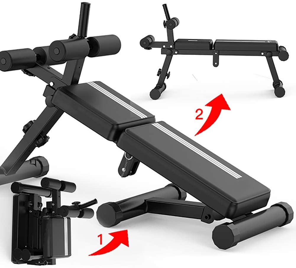 LGQ Home Multi-Function Fitness Chair Fitness Equipment Sit-Up Board Bird Chair Priest Bench Bench Dumbbell Bench Fitness Chair